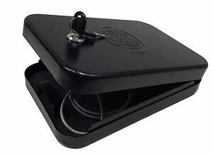 Handgun Pistol Safe Car Portable Lock Box Gun Safety