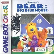 Jim Henson''s Bear in the Big Blue House GBC New Game Boy Color