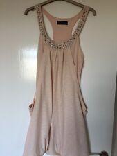 Miss Selfridge Size8 Pink Tulip Style Top