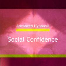 Develop Your Social Confidence, Confident Socially Hypnotherapy Self Hypnosis CD