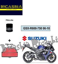 7393 - KIT FILTRO ARIA + OLIO SUZUKI 1000 GSX R GSX-R 2009 - 2011 - BICASBIA