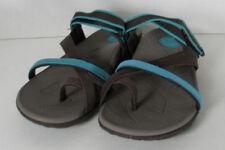 Leather Strappy Slip On Sandals & Flip Flops for Women