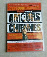 DVD CINÉMA FILM SERIE / AMOURS CHIENNES DE ALEJANDRO GONZALEZ INARRITU FR/SPA