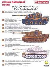 Techmod Decals 1/35 German PzKpfw VI TIGER E TANK EARLY MODEL