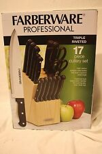 Farberware Professional High-Carbon Stainless Kitchen Cutlery Set - 17 pc
