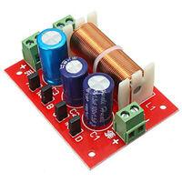 1X(400W Lautsprecher Frequenz Weiche 2 Wege Hoch Niedrig 4-16 Ohm Frequenz E5O7
