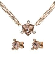 Steel Jewellery With Swarovski Elements *Dyrberg/Kern Gold Rose Plated Stainless