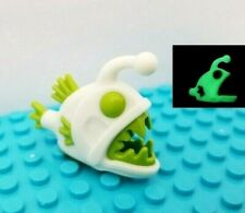 New LEGO® Glow in the Dark Angel Fish Pointed TEETH Big Mouth Water Animal Pet