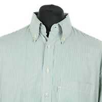 Vintage LEVI'S Button Down Striped Shirt | Western Cowboy Retro Stripy