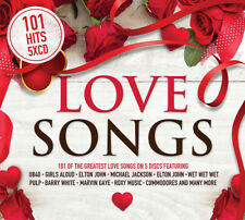 Various Artists : 101 Love Songs CD (2018) ***NEW***