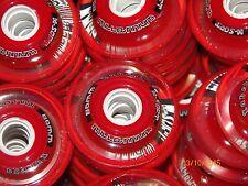 8 New Labeda Millennium X soft Indoor roller hockey wheels 80mm