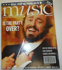 Music Magazine Rite Of Spring Pavarotti July 1995 032515R2