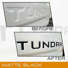 For 2014 15 16 17 2018 Toyota Tundra Tailgate Letter Inserts Trim Molding Black