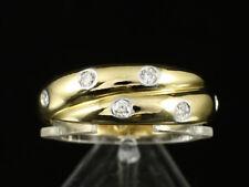 Tiffany & Co Brillant Ring ca. 0,30ct   8,2g 750/- Gelbgold & Platin