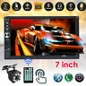 "2 DIN 7""HD Touch Screen Car Stereo Radio MP5 FM Player with Rear Camera AUX/USB"