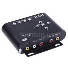 2CH Realtime Security CCTV SD Card Mobile Car Vehicle DVR Motion Recorder RCA AV
