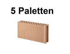 5 Pal. Planziegel POROTON-T ZWP (11,5 cm) 8/0,8 Ziegelstein Planstein Mauerwerk