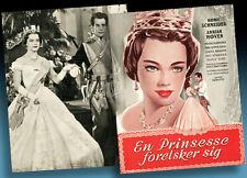 ROMY SCHNEIDER VICTORIA MÄDCHENJAHRE KÖNIGIN FILMPROGRAMM 1954 DÄNEMARK SISSY