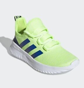 Adidas Kaptir K Kids Shoes Green / Royal Blue / Tech Indigo Size 6 Brand New