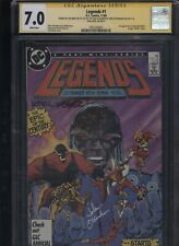 Legends #1 CGC 7.0 3x SS Len Wein & John Ostrander & Karl Kesel AMANDA WALLER