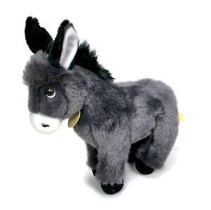 """Miyoni Tots Aurora Eco Friendly 9"""" Donkey Plush Stuffed Animal"""