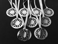 GEORG JENSEN WREATH 9 Christmas Decorations Silver Limited Edition NEW