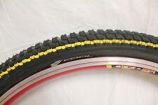 VEE RUBBER S´Cool Fahrradreifen schwarz mit gelb ring24 x 2.00 (50-507)