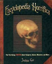 Enciclopedia horrifica: la aterradora verdad! sobre vampiros, fantasmas, monstruos,