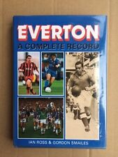 Everton FC Book Complete Record 1993 Breedon Books