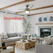 """Secondhand  36"""" 3-Blade Modern Ceiling Fan with 3-Color LED Light Kit, 3 Speeds"""