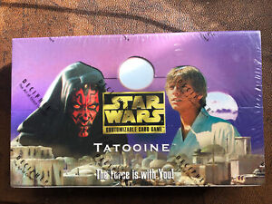 Tatooine Booster Box Star Wars CCG SWCCG Factory Sealed Decipher English