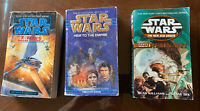 Lot of 3 Star Wars Paperbacks, New Jedi Order and two more!