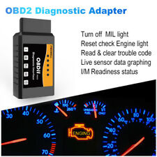 2020 ELM327 OBD2 Scanner Auto Code Reader Check Engine Fault Diagnostic Tool US