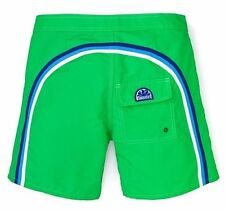 "NWT SUNDEK Men's Green Rainbow Classic 17"" Swim Trunks Board Shorts ~ Sz 30"
