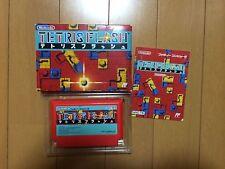 Tetris Flash Famicom Japan NTSC-J Nintendo Family Computer boxed set