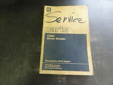 Caterpillar CAT 120G Motor Grader Parts Manual   SEBP1711