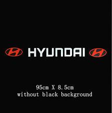 Amazing Parabrezza Parabrezza Auto Adesivo Decalcomania Per Hyundai ( senza sfondo )