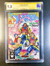 Uncanny X-Men 282 CGC 9.8 11/91 Sign Whicle Portacio Art Thirbert 1st Bishop