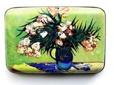 "Credit Card Case (Armor Wallet) - ""Vase With Oleanders & Books"" by Van Gogh"