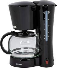 ONVAYA® Kaffeemaschine   Schwarz   Filterkaffeemaschine für 12 Tassen