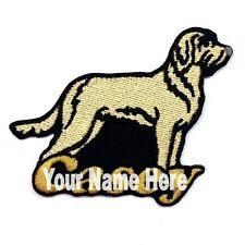 Spinone Italiano Dog Custom Iron-on Patch With Name Personalized Free
