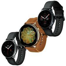 Samsung Galaxy Reloj activo 2 SM-R820 44mm Cuero Acero Inoxidable Reloj inteligente