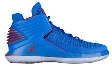 sale retailer 3fae3 ca0a8 Air Jordan 32 XXXII Russ AA1253-400 Signal Blue Orange Basketball Shoes  Size 10