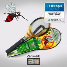 Weltneuheit Elektrische Fliegenklatsche mit LCD-Zählwerk, Insekten Schröter CC