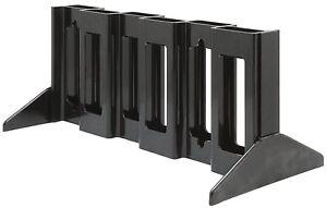 Freestanding PARABOLIC XL Ski Storage Rack - Holds 6 Pair Skis