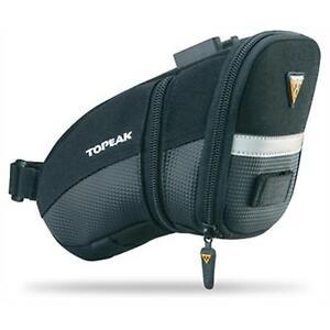 Topeak Aero Wedge Pack Satteltasche alle Größen + Halter Fahrrad Reifen Tasche