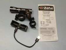 ZEFAL RECHAGEABLE BICYCLE SET LED FRONT AND REAR