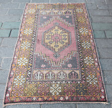 Turkish Carpet,Decorative rug,Muted rugs,modern color rug,Home carpets.5'3x3'2 F