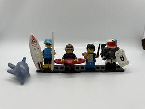 5 each of 5 series READ Wholesale Lot-TOTAL  25 Sealed LEGO MINI FIGURE PACKS