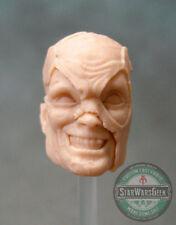 "ML247 Custom Cast Battle Damage Deadpool head use with 6"" Legends action figures"